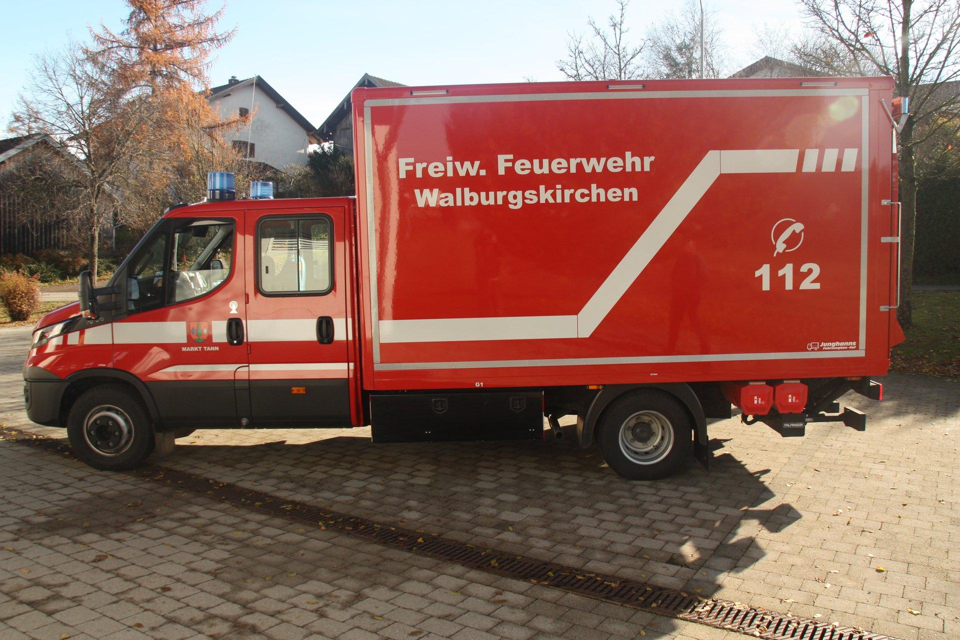 Freiwillige Feuerwehr Walburgskirchen - Fahrzeuge